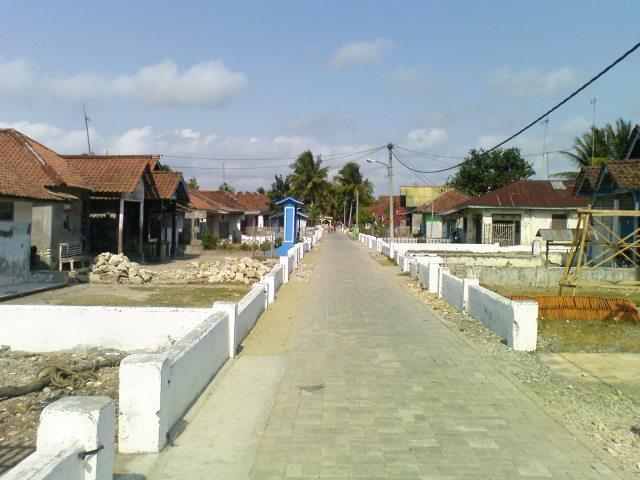 Jalanan Desa Ujung Gagak