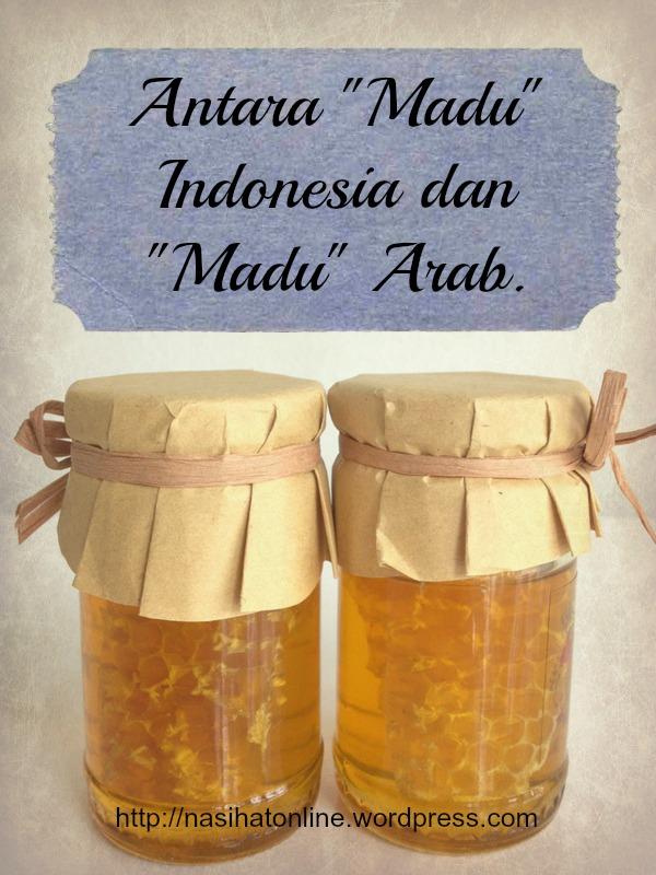 Kenapa Istri Kedua atau Istri Lain dinamakan Madu?