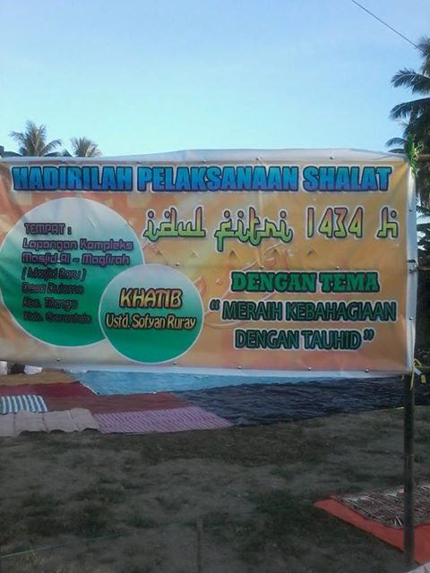Khutbah Idul Fitri Gtlo 1434 H