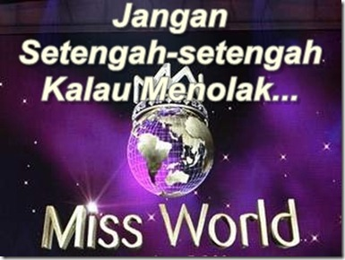 Tolak Miss World